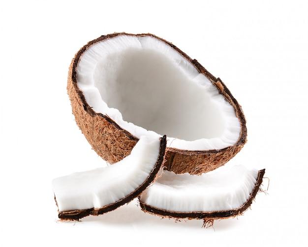 코코넛. 고립 된 반