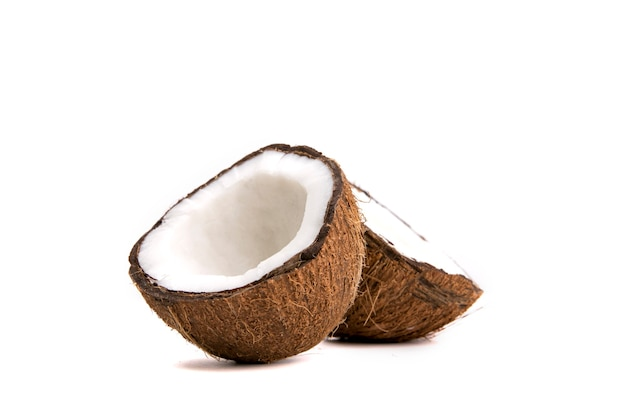 Coconut on an isolated background