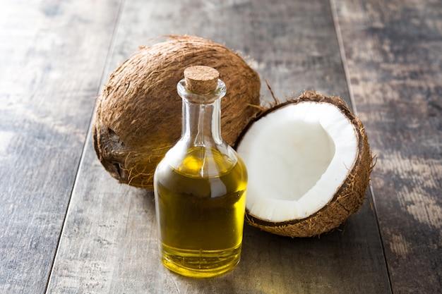 木製のココナッツオイル