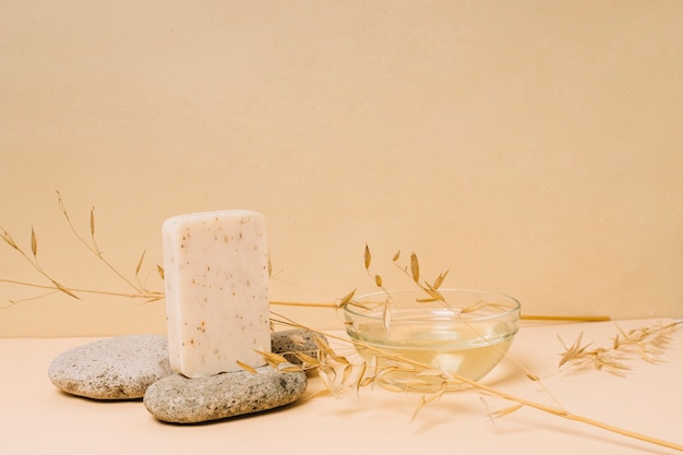 Coconut oil organic soap bar