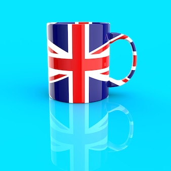 Концепция чашки кофе - 3d иллюстрации