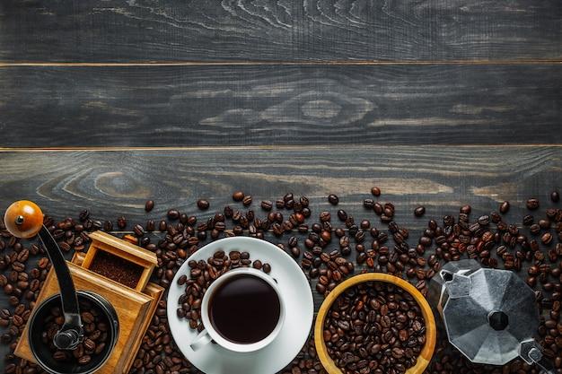 コーヒーの背景