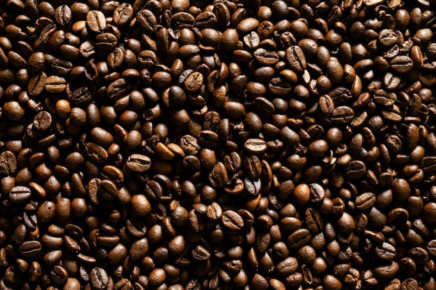 Coffee bean as background