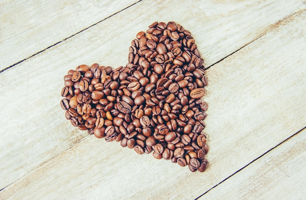 Coffee bean. a cup of coffee.