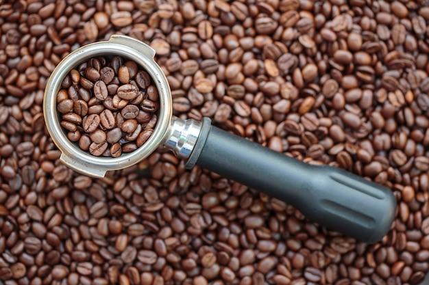 Кофе в зернах с portafilter