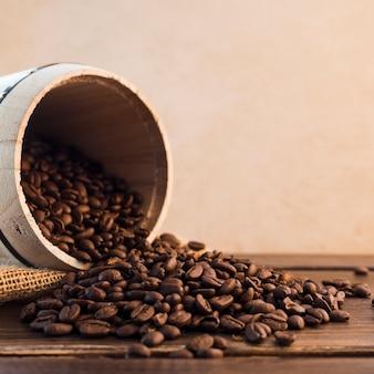 커피 콩 배경