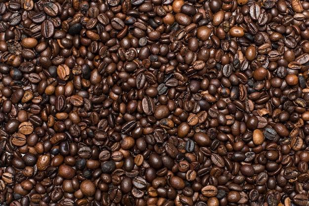 Фон кофейных зерен