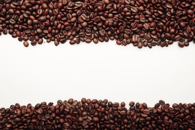 Coffee beans frame.
