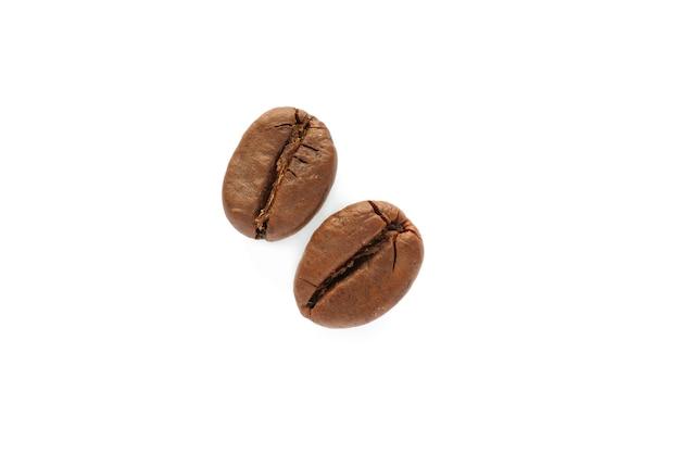 分離されたコーヒー豆