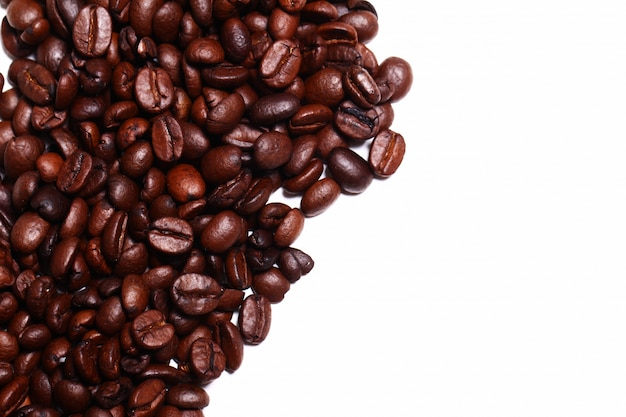 Кофе в зернах с copyspace