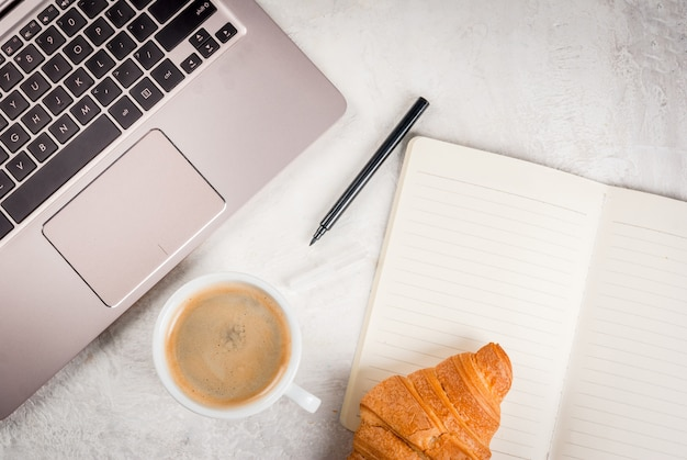 Coffee break on workplace