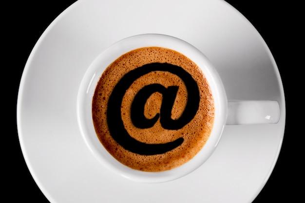 커피 아침 메일