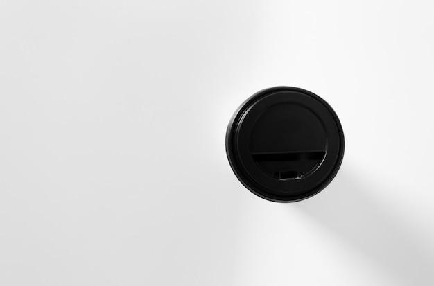 Coffee in cardboard cup