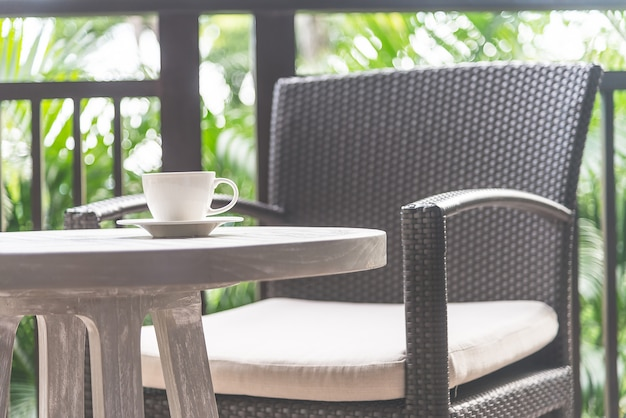 Coffee cup outdoor