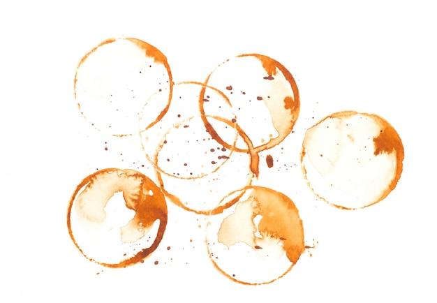 Пятно от кофейной чашки