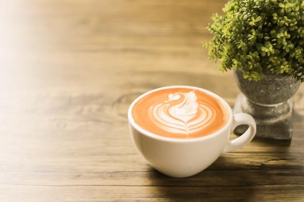 泡の描画とコーヒーカップ
