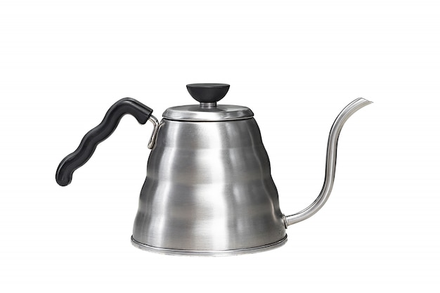 Coffee drip kettle isolated