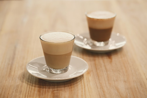 Кофе в стакане
