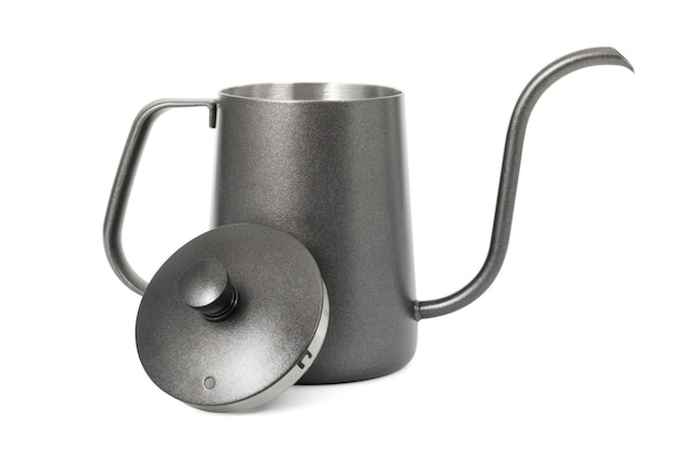 Coffee kettle isolated on white background
