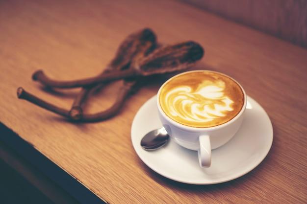 コーヒーラテアート