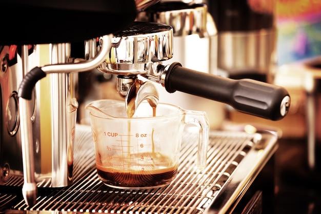 Кофеварка в стиле гранж обработана