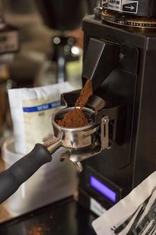 コーヒー製造工程カフェラテ