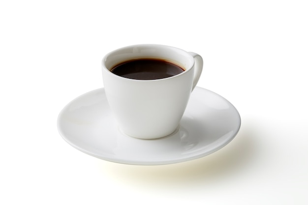 白のコーヒーマグ分離