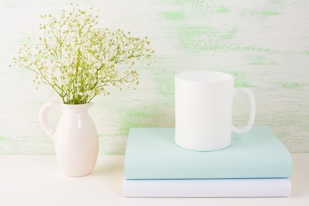 Coffee mug light green