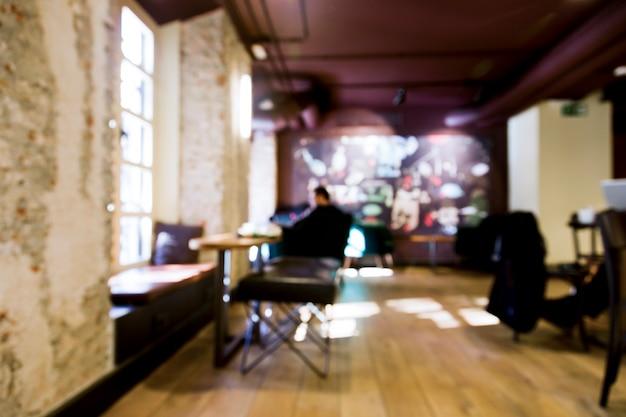Кофейня с размытым эффектом Бесплатные Фотографии