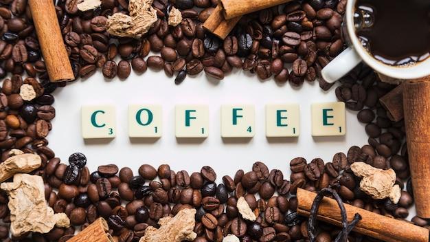Caffè e spezie attorno alla scrittura