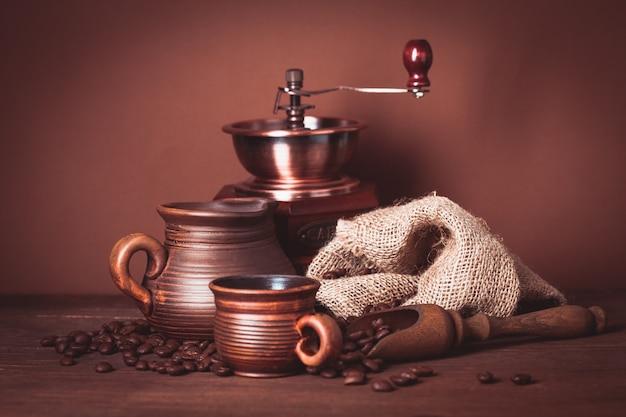 コーヒーの静物