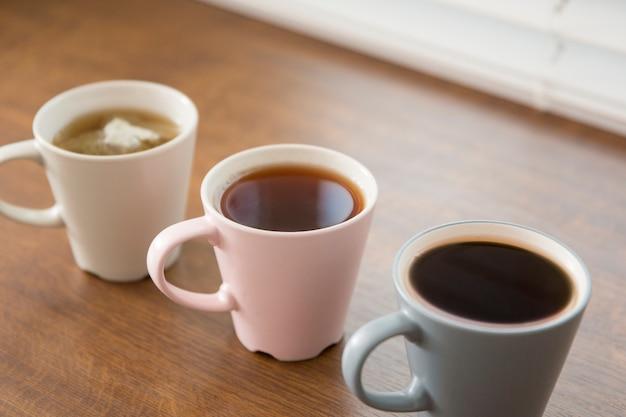 Tazze da caffè e da tè