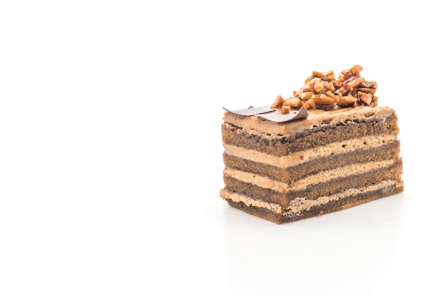 Coffee toffee cake