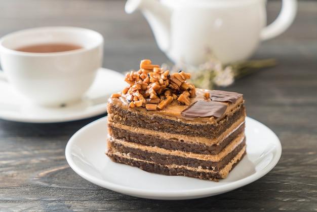 Coffee toffee cake