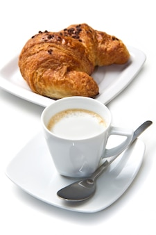 Coffee with brioches
