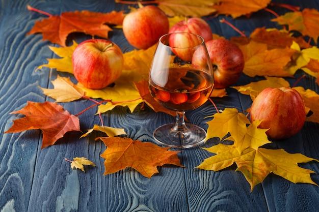Cognac and fruit