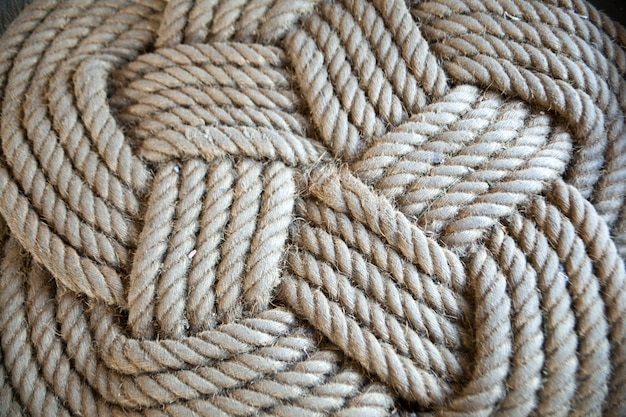 Coil of rope.