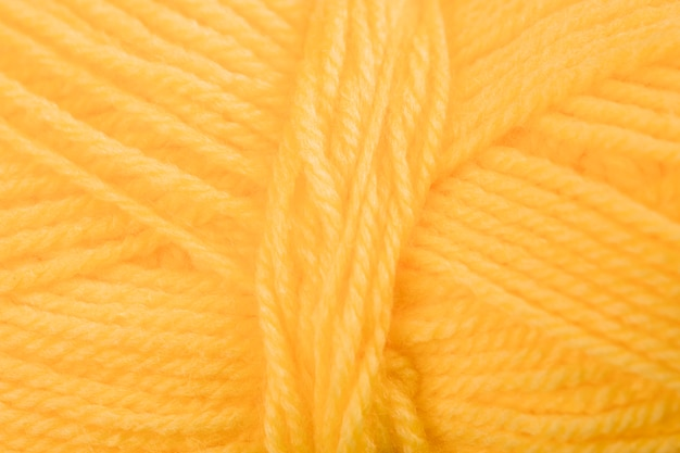 Coil wool thread
