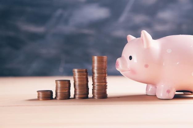 Монеты с копилкой роста бизнеса