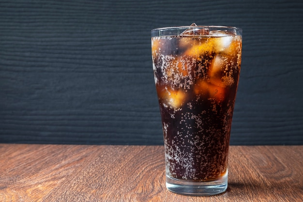Cola drinks and black soft drinks