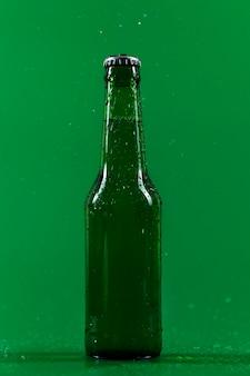 Холодная бутылка пива