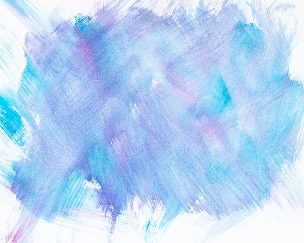 冷たい混合水彩画