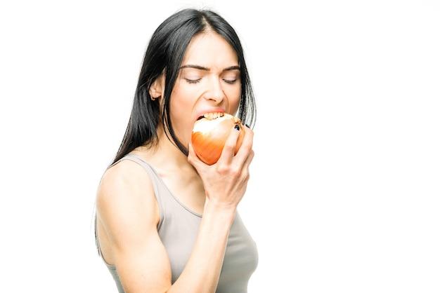風邪、鼻水、インフルエンザの予防、女性はタマネギを食べる