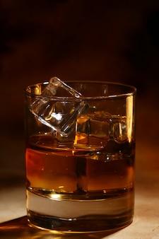 冷たいウイスキー