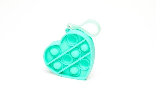 Coldplay pop it fidget toys сенсорная игрушка fidget bubble push pop силиконовая игрушка для снятия стресса брелок в форме сердца.