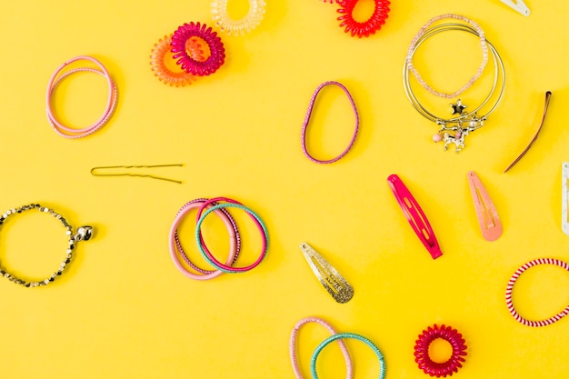 Collection of hair accessories