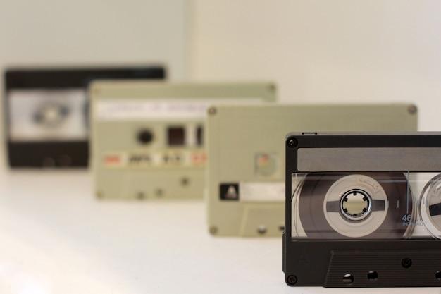 1970年代のオーディオカセットテープの収集