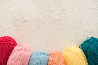 Collection of soft yarn