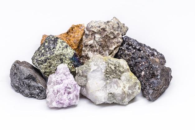 Коллекция камней, добытых в бразилии, минералогия, бразильские минеральные богатства