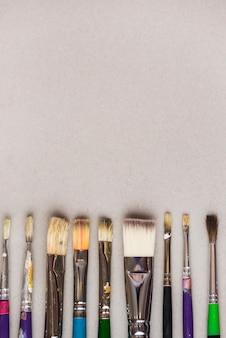 Collezione di pennelli professionali